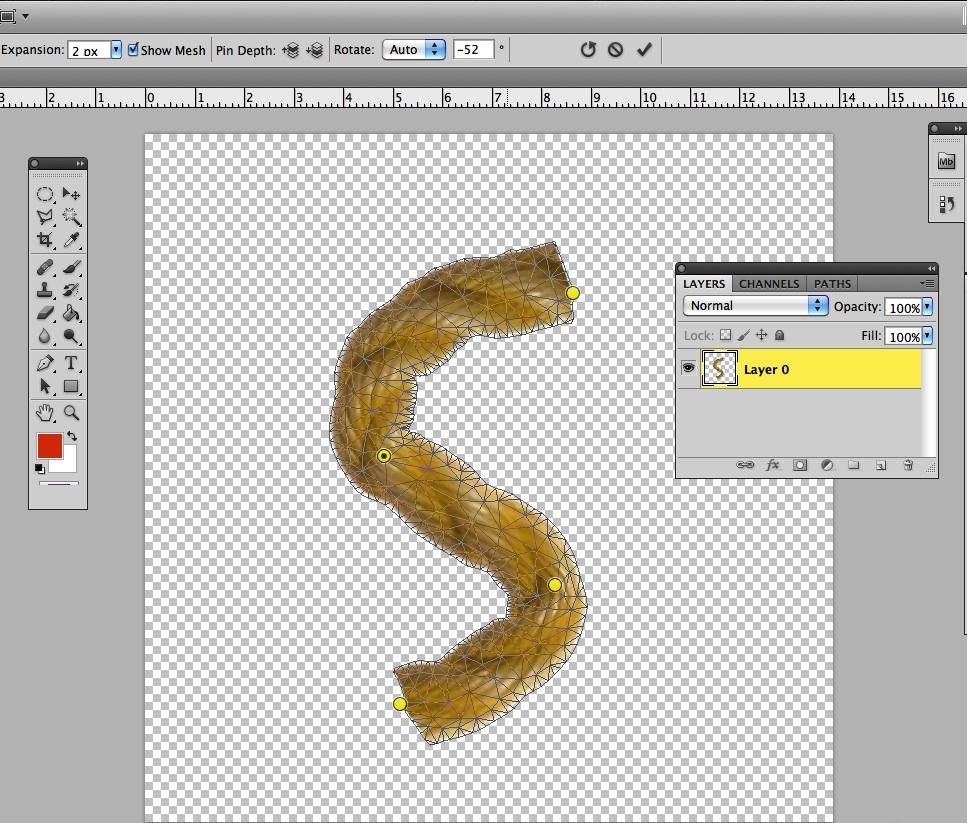 Using Puppet Warp in Photoshop CS5 | Denver Adobe Training